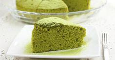 Recette de Gâteau léger au thé vert Matcha. Facile et rapide à réaliser, goûteuse et diététique. Ingrédients, préparation et recettes associées.