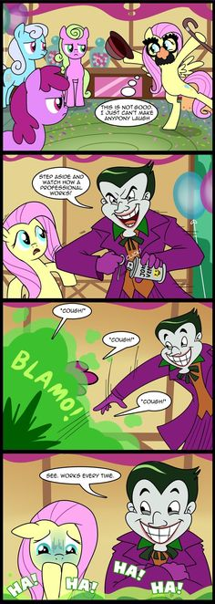 MLP: Make them laugh (Commissioned) by *tan575 on deviantART
