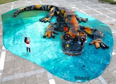by Bordalo in Agueda, Portugal, 7/15 (LP)