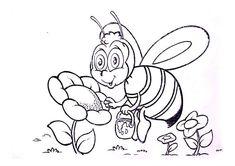 desenhos para pano de prato bichinho abelha