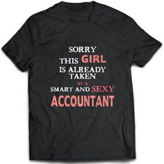 Accountant T-Shirt. Accountant tee present. Accountant tshirt