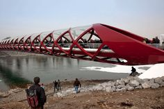 Helix-like bridge