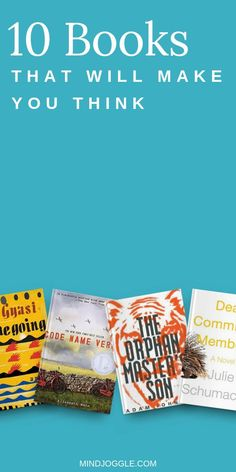 Get your mind going with this book list from Mind Joggle. Challenge your world view with books that make you think, including historical fiction and literary fiction. These books offer interesting perspectives, tricky puzzles, and elevated language--choose what your reading life needs and start one of these smart books now. #books #booklist Best Historical Fiction, Literary Fiction, Fiction And Nonfiction, Literature Books, History Books, Best Books To Read, Good Books, Popular Books, What To Read