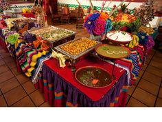 Mexican Buffet Party!