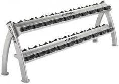Storage Trees & Racks | Cybex Fitness | Cybex Twin Tier Dumbbell Rack | Powered by soOlis