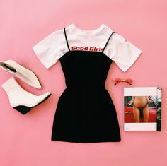 www.vergegirl.com #vergegirl #verge #girl Cute Comfy Outfits, Pretty Outfits, Cool Outfits, Summer Outfits, Dress Outfits, Casual Dresses, Casual Outfits, Teen Fashion Outfits, Outfits For Teens