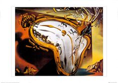 Soft Watch at the Moment of First Explosion - Dali