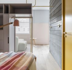 New York architect's Grzywinski+Pons' design is Georgian Edinburgh outside, Shoreditch inside. Pale oak floors, plenty of pastels with the odd squirt of mustard and self-conscious quirkiness creates a light-hearted but seriously on-trend feel.