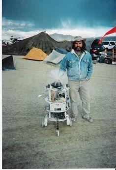 Me and Springy at Burningman.