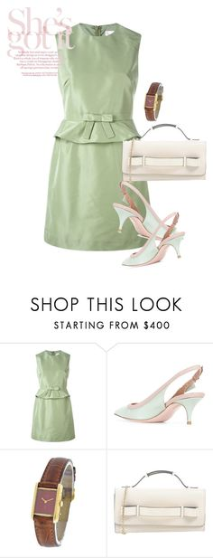 """dress"" by masayuki4499 ❤ liked on Polyvore featuring RED Valentino and Cartier"