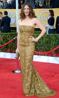 SAG Awards 2013: Red Carpet Dresses: Jennifer Garner