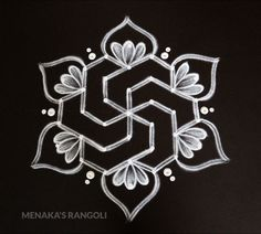 Easy Rangoli Designs Diwali, Simple Rangoli Designs Images, Rangoli Designs Latest, Rangoli Designs Flower, Free Hand Rangoli Design, Rangoli Border Designs, Small Rangoli Design, Rangoli Designs With Dots, Beautiful Rangoli Designs