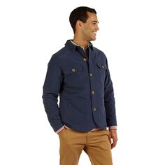 Prosser Jacket by Swellas is the ideal layering piece for warmth without the bulk. Available at Purible.com