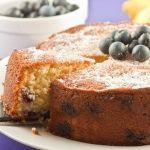 Blueberry & Lemon Tea Cake