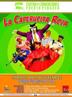 Noviembre, Puerto Peñasco, Centro de Convenciones, Caperucita Roja