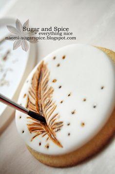 Cookie tutorial - Rustic Wedding Cookies