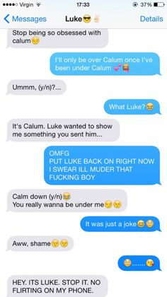 +5+sos+text+messages | Luke/Calum fake text messages