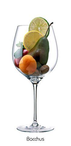 Descriptores aromáticos de la variedad Bacchus #WineUp #Vinos #Aromas #Copa