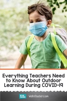 Could We Really Teach Outdoors This Year? Is outdoor learning the answer to COVID-19 challenges? Here's what educators need to know about the realities of outdoor learning. #healtheducation #education #outdoorlearning #school #teaching #teachers #classroomideas Outdoor Learning Spaces, Outdoor Education, Music Education, Health Education, School Reopen, We Are Teachers, I School, School Ideas, Changing Jobs