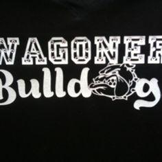 Custom BLING school spirit shirt