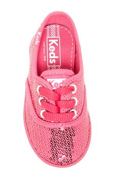 Adorable, Little Sequin Keds Sneaker (Toddler & Little Kid)!