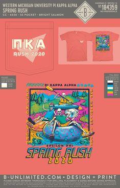 Pi Kappa Alpha Rush Shirt   Fraternity Event   Greek Event #pikappaalpha #pike #pka #rush Pi Kappa Alpha, Rush Shirts, Greek Life, Fraternity, Artwork, Design, Work Of Art, Auguste Rodin Artwork