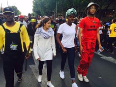 South Africa is going through a bit of a revolution & I'm proud to be part of the generation that led it. This is our Fantastic 4 that brought it to life - Mcebo Dlamini, Shaeera Kalla, Nompendulo Mkatshwa & Vuyani Pambo.