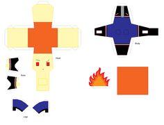 Paper Crafts: Heath by KPenDragon.deviantart.com on @deviantART