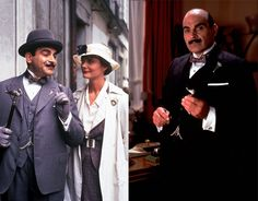 Hercule Poirot, my favorite Christie detective. I love David Suchet in this role!