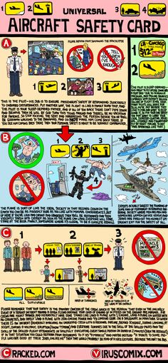 If Airplane Safety Instructions Were Honest