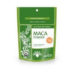 Navitas Naturals, Organic, Maca Powder, Gelatinized, 16 Oz (454 G), Diet Suplements 蛇