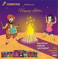 Wishing you all a Happy Lohri