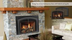 Monessen Fireplaces from TheFireplaceFactory.com in Long Island. #fireplaces #interiordecor #interiordesign