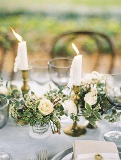 Photography: Krista A. Jones - www.kristaajones.com Wedding Dress: Garnish Boutique - garnishboutique.com Florals: Petal & Print - petalandprint.com   Read More on SMP: http://www.stylemepretty.com/2015/03/09/elegant-winter-wedding-inspiration/