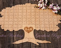Autumn Fall Spring TREE of Life Alternative Wooden Wedding