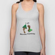 #Moving #Forward Unisex Tank Top. Available in different colors. Click through to see more.