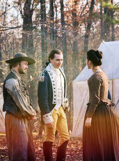 Caleb, Ben, and Anna in Turn: Washington's Spies.