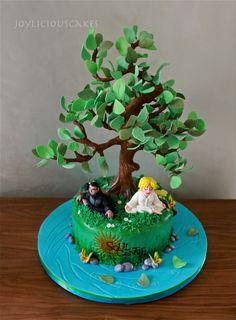Tall Tree Tutorial http://cakesdecor.com/oter/blog/332