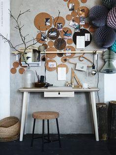 pinnwand selber machen einen individuellen organisationshelfer basteln wohnzimmer haus. Black Bedroom Furniture Sets. Home Design Ideas