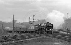 26 photos of the last days of steam in what is now Cumbria - the final workings, specials and withdrawn locos awaiting their appointment with oblivion. Old Trains, Windermere, Photo Search, Steam Engine, Steam Locomotive, Cumbria, Photo Library, North West, British