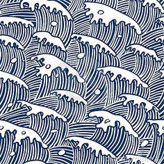 Rain Ivory & Aqua Pillow design by Sury