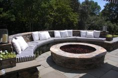 This is what I'm talking about.  I told Matt, totally easier than getting patio furniture by a fire pit!