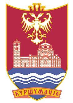 Kuršumlija Municipality (No. 76), Serbia (Area 952 Km²) Toplica District #Kuršumlija #Toplica #Serbia (L11434)
