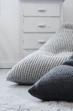 knitted bean bags
