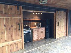 Modern Double Barn Door Hardware Kit - The Barn Door Hardware Store