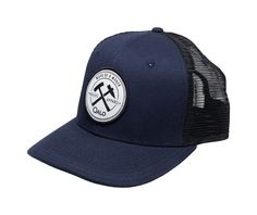 Hammer and Pick Navy Mesh Hat