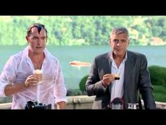 How far would you go for a Nespresso? Featuring George Clooney and Jean . George Clooney, Nespresso, Perrier, Jean Dujardin, Bd Comics, Videos, Youtube, Truths, Actresses