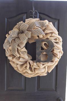 Burlap wreath - Wreath for door - Summer Wreath -Home Decor -Gift idea - Door Wreath We use 60 feet of high quality burlap to create a very thick,