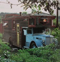 Rolling Homes: Handmade Houses on Wheels by Amy Merrick, via Flickr