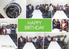 #birthday #celebration #zenscale #officelife #hbd